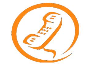 logo tel naranja